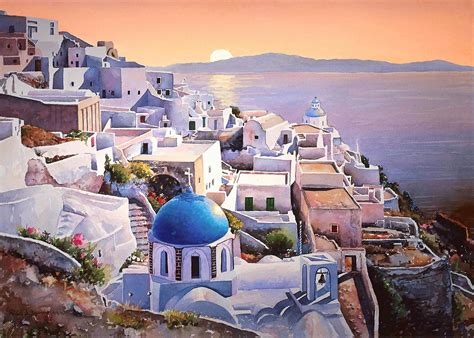 Greek Islands Santorini Photos