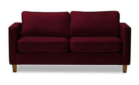 canapé velours bordeaux achat meuble pas cher meubles à prix discount canapé