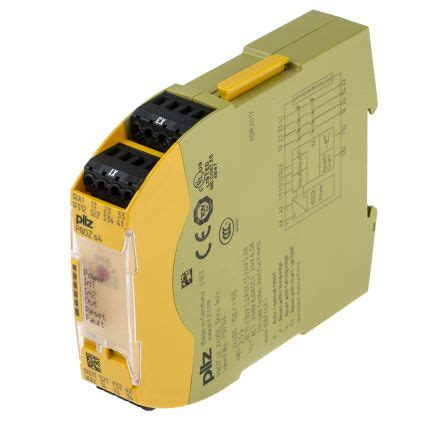 pnoz s4 24vdc 3 n o 1 n c pnozsigma configurable safety