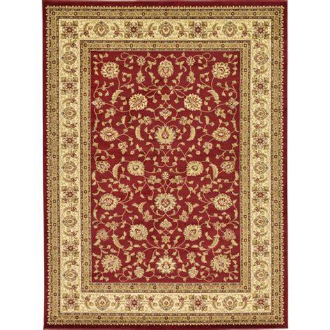 unique area rugs unique loom agra 9 ft x 12 ft area rug 3123692 the