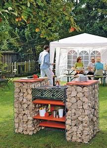 Grillstation Selber Bauen : gabionen grill selber bauen kleinster mobiler gasgrill ~ Yasmunasinghe.com Haus und Dekorationen