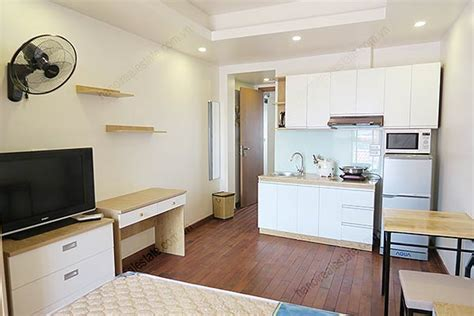 New Studio Apartment For Rent In Hoan Kiem, Fully Furnished