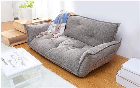 floor l over couch modern design floor sofa bed 5 position adjustable sofa plaid japanese style furniture living