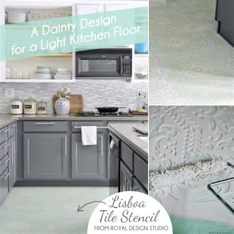 painting linoleum kitchen floor painted vinyl linoleum floor makeover ideas fox hollow 4048