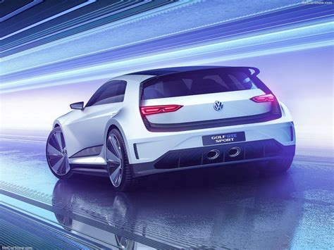 Vw Golf Gte Sport Concept 2018 2017
