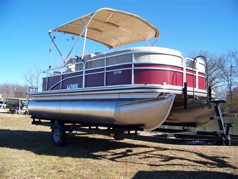 Boats For Sale Usa by Lowe Ss190 Pontoon Boat For Sale From Usa