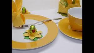 Tischdeko Für Ostern : basteltipp der woche nr 9 tischdeko f r ostern youtube ~ Watch28wear.com Haus und Dekorationen