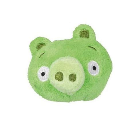 angry birds green pig mini plush pencil topper favor ct
