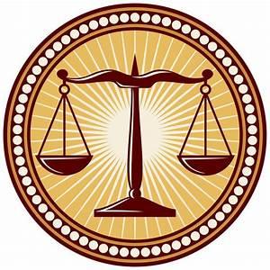 Cuadro balanza de la justicia símbolo • Posters y Cuadros sobre tela • PIXERS es