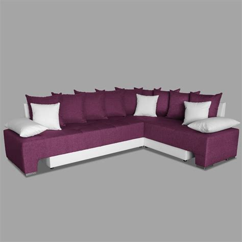 canape d angle prune canap 233 d angle couleur prune