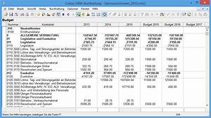 Budget Rechnung : screenshots von cr sus finanzbuchhaltung hrm ~ Themetempest.com Abrechnung
