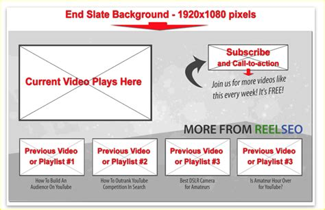 end card template free end card templates tools the easiest way to add clickable end cards