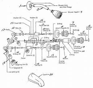 Sears Tub  U0026 Shower Faucet Parts