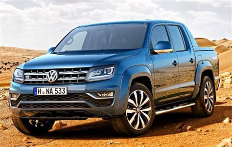 2019 Volkswagen Amarok Truck Review And Price Best