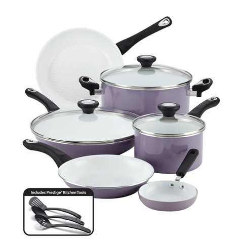deals tramontina gourmet  pc tri ply clad  stainless steel induction ready cookware set