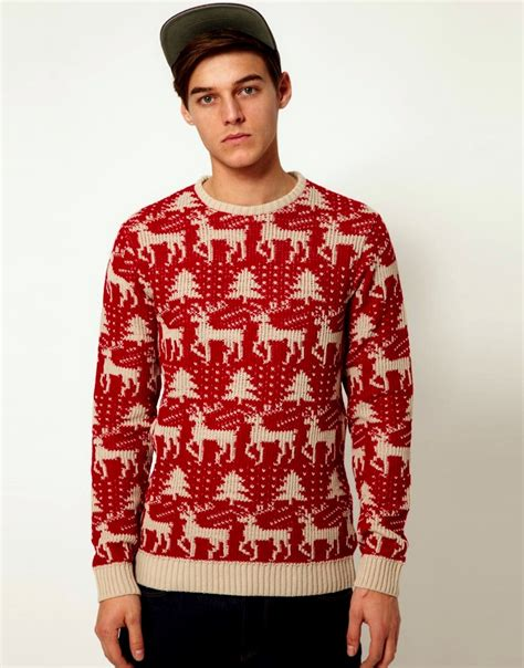 Christmas Sweater Shirts | Mens Christmas Jumpers | Christmas Outfits 2012-13 For Men By Asos ...