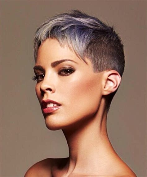 Cool Pixie Hairstyles by Edgy Cool Pixie Hair Buzz Cuts Frisuren Frisuren