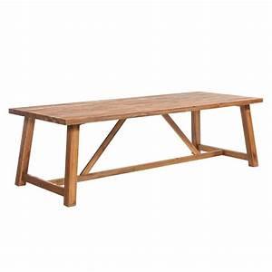 Gartentisch Holz Massiv : outliv marbella gartentisch 250x100 cm akazie fsc garten freizeit ~ Indierocktalk.com Haus und Dekorationen