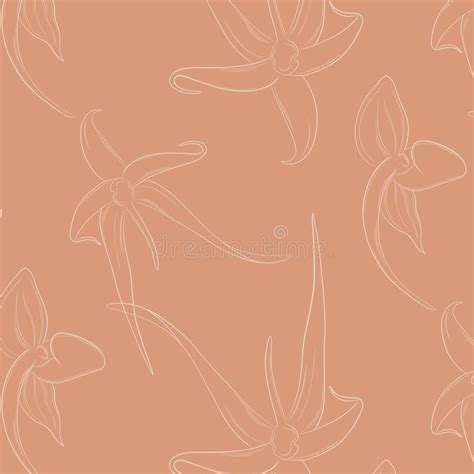 flower silhouette print  pastel background stock