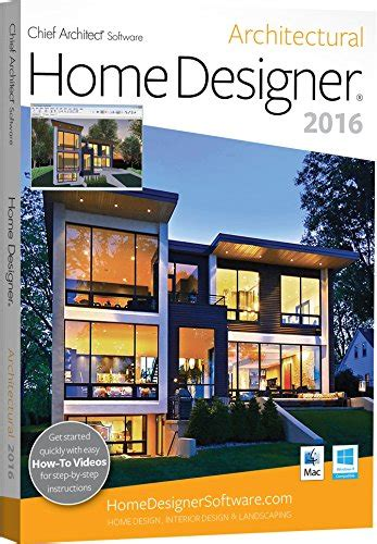 Chief Architectural Home Design by Chief Architect Home Designer Architectural 2016