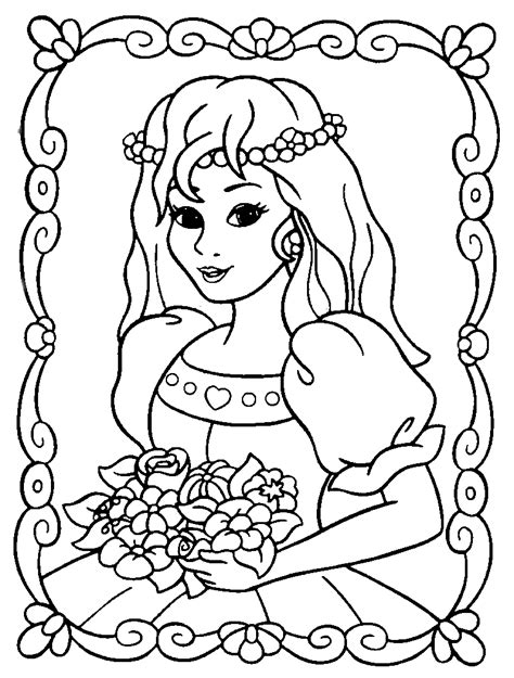 Coloring Princess by Princess Coloring Pages 2 Coloring