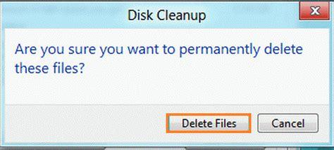 Delete Temporary Files In Windows 8
