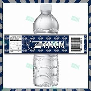 search results for free water bottle printables With dallas cowboys water bottle labels