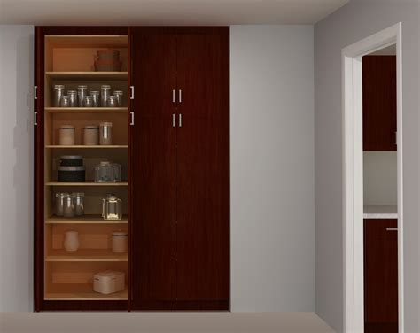 Useful spaces a builtin IKEA pantry
