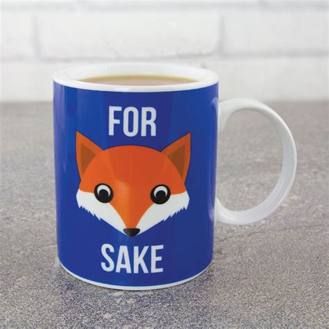 kitchen and dining room ideas for fox sake mug iwoot