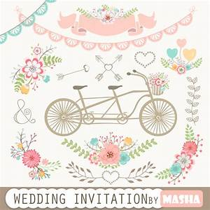 wedding invitation clipart wedding invitation with With wedding invitation flower clipart free