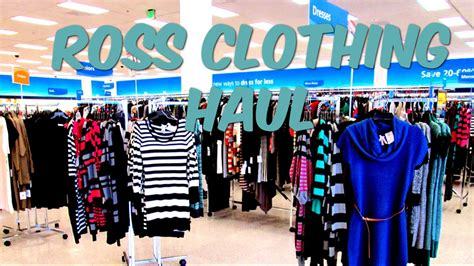 Ross Mostly Clothing Haul