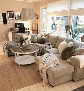 Wohnzimmer Gestalten Grau : die besten 25 wohnzimmer landhausstil ideen auf pinterest ~ Michelbontemps.com Haus und Dekorationen