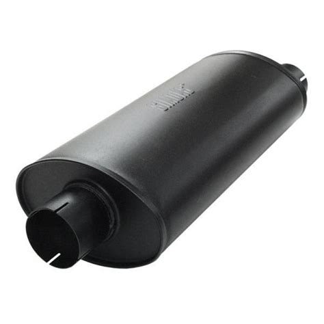 jetex universal exhaust silencer oval box offset outlet