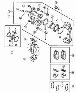 2001 Dodge Stratus Pin  Caliper  Lock  Brakes  Front