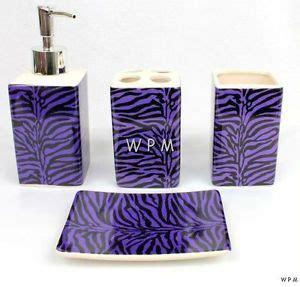 purple zebra print bathroom set new black purple zebra bedding fur comforter set