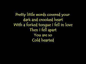 Zac Brown Band Cold Hearted lyrics - YouTube