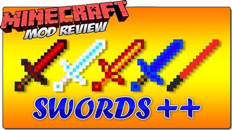 SWORDS ++ (SWORDS PLUS PLUS) MOD MINECRAFT 1.8 REVIEW ...
