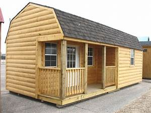 barn plans with loft log log cabin portable storage With barn with loft kit