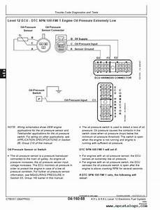 John Deere Level 12 Electronic Fuel System W   De10 Pump