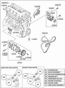 2510025002 - Hyundai Pump Assembly