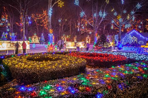 la salette christmas lights national shrine of our lady la salette attleboro ma
