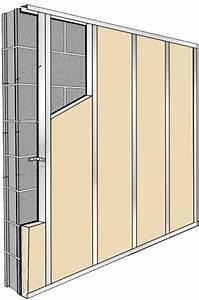 Doubler Un Mur En Placo Sur Rail : isolation des murs par l int rieur tutoriel ~ Dode.kayakingforconservation.com Idées de Décoration