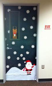 Christmas office door decoration christmas inspiration for Office door decorations for christmas