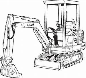 Bobcat 220  X220 Excavator Factory Service  U0026 Shop Manual