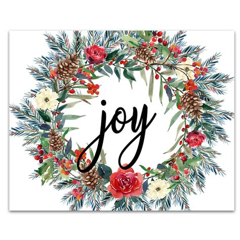 christmas decorations pictures to print 6 free printable signs six clever