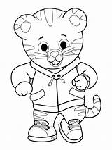 Tiger Daniel Coloring Pages Printable Neighborhood Colouring Drawing Tigers Clipart Pdf Lily Getdrawings Getcolorings Cartwheel Boone Microscope Compound Colorings sketch template
