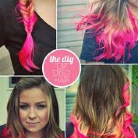 47 Best Images About Dip Dye Hair On Pinterest