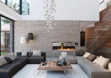 modern house interior design ideas with indoor