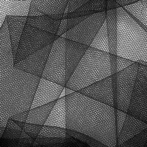 """54"""" Wide Tulle Black - Discount Designer Fabric - Fabric com"""