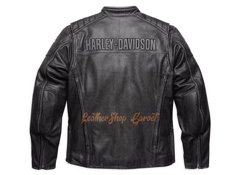 jual jaket kulit asli model harley davidson midway